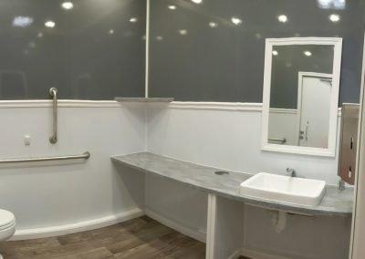 Shower and Restroom Trailer Rentals 10StationRestroomTrailerRental 1 400x284 - Restroom Trailers
