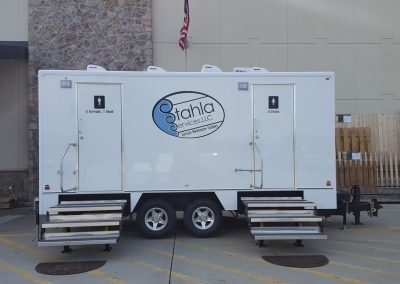 Shower and Restroom Trailer Rentals EightStationRestroomTrailerRental 400x284 - 10 Station Restroom Trailer