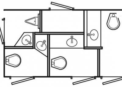 Shower and Restroom Trailer Rentals restroom trailers SS4 StallLayout 400x284 - Old Restroom Trailers