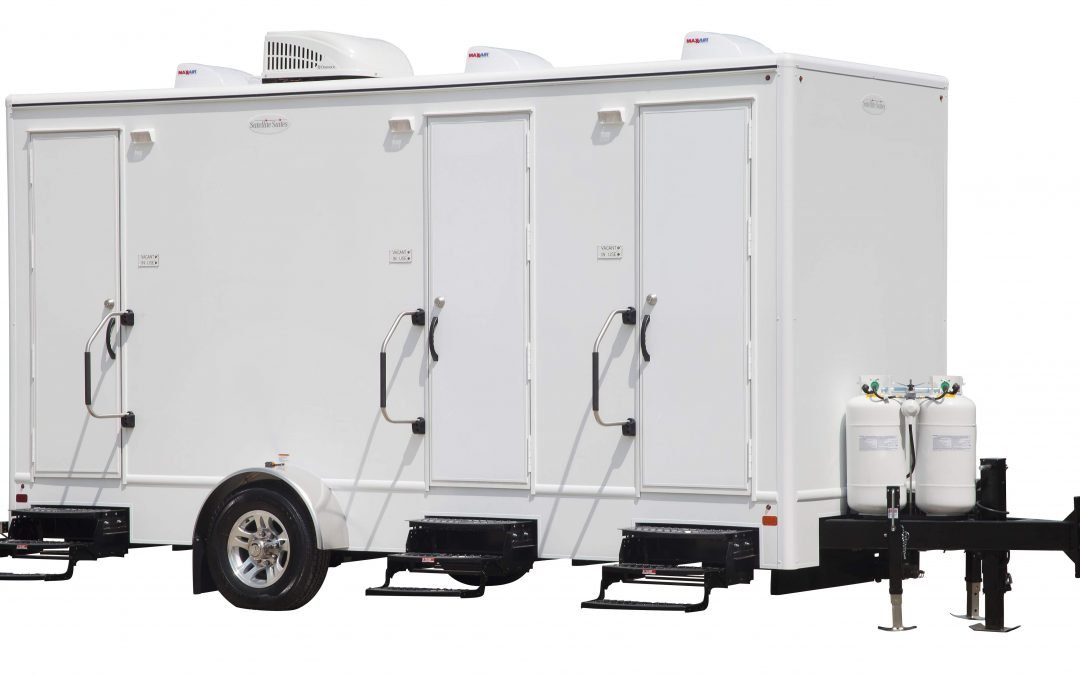 3 Station Shower Trailer