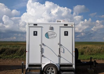 Shower and Restroom Trailer Rentals 2SRTExterior 1 400x284 - 2 Stall Restroom Trailer