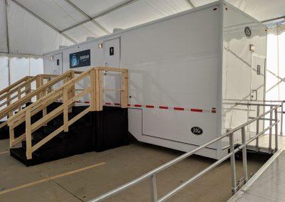 Shower and Restroom Trailer Rentals IMG 20190913 161011 400x284 - 10 Station ADA Handicap Accessible Restroom Trailer