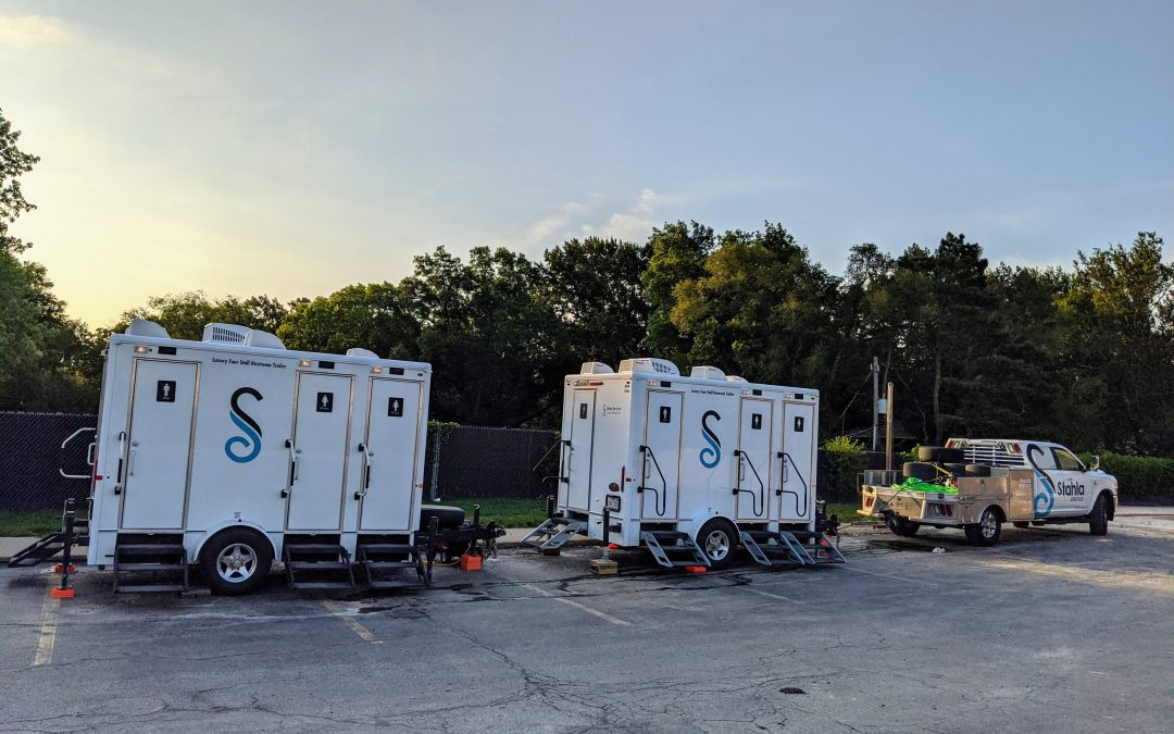 Portable Restroom Trailer Delivery Process