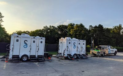 Restroom Trailer Delivery