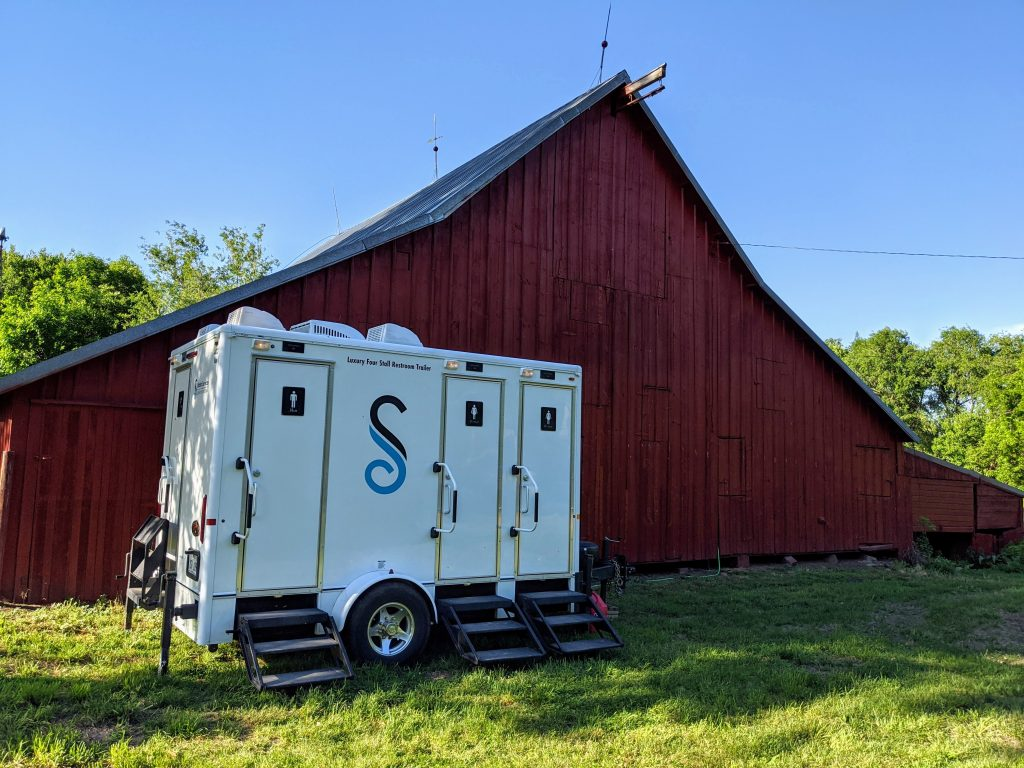 Shower and Restroom Trailer Rentals portable restroom barn 1024x768 - Portable Restroom Trailer Delivery Process