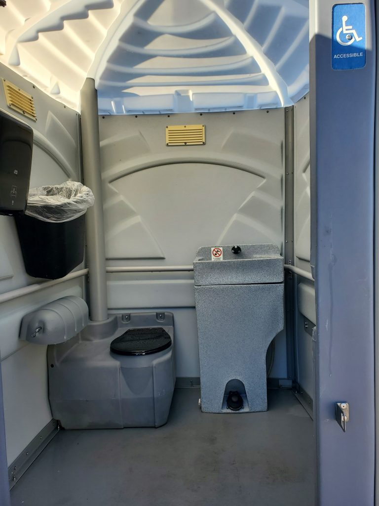 Shower and Restroom Trailer Rentals ADA Portable Toilet 768x1024 - Handicap Accessible ADA Restroom Trailers