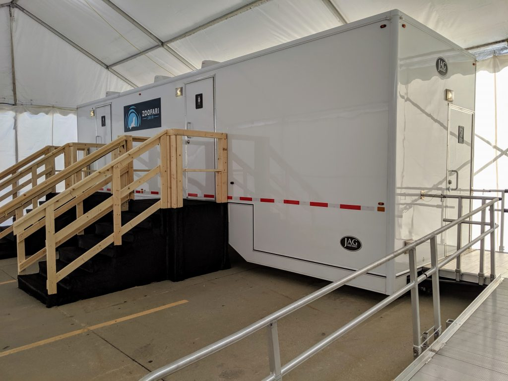Shower and Restroom Trailer Rentals IMG 20190913 161011 1024x768 - Mobile Restroom Trailer Footprint and Setting