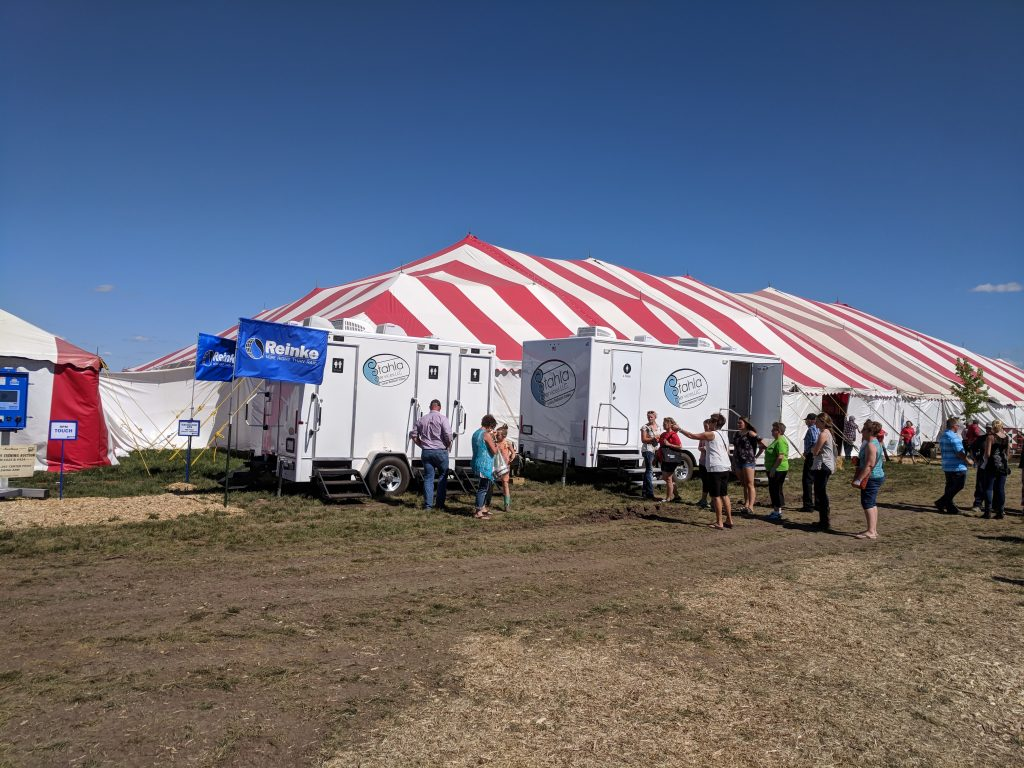 Shower and Restroom Trailer Rentals mobile bathroom event 1024x768 - Benefits of a reliable long term mobile bathroom provider