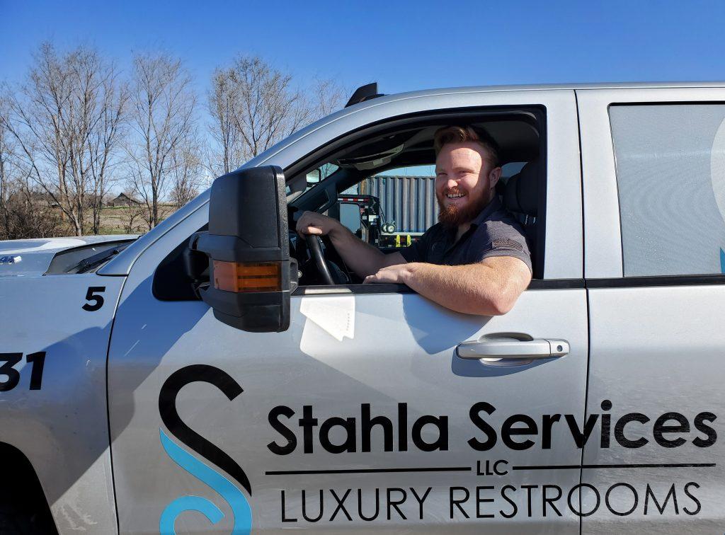 Shower and Restroom Trailer Rentals restroom trailer rentals driver 1024x756 - Restroom Trailer Rentals & New Applicants: What we look for.